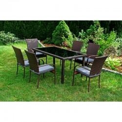 Záhradne sedenie 6+1