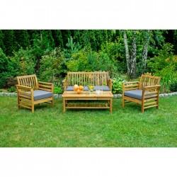 Záhradný nábytok - Stôl + 2...